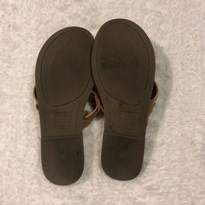 American Eagle Outfitters Shoes - Tan American Eagle Sandals